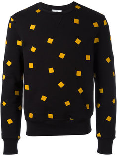 embroidered sweatshirt  Ami Alexandre Mattiussi