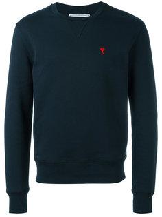 logo sweatshirt Ami Alexandre Mattiussi