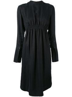 платье-рубашка с воротником-стойкой Neil Barrett