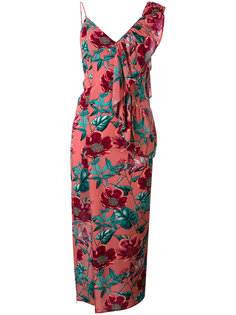 асимметричное платье с принтом flamenco  For Love And Lemons