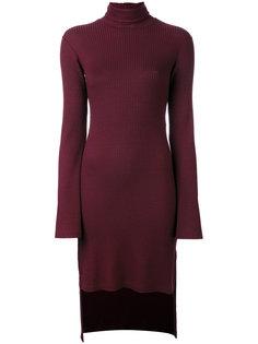 платье с асимметричным подолом Mm6 Maison Margiela