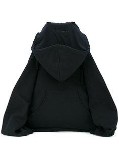 толстовка-рюкзак с принтом Mm6 Maison Margiela