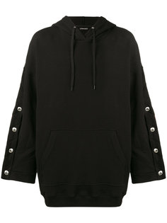 Oversized Hoodie with Arm Button Fastening Y / Project