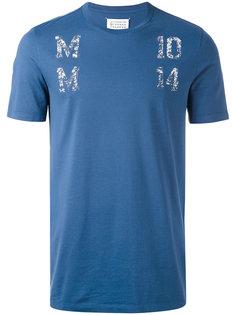 футболка с принтом Maison Margiela