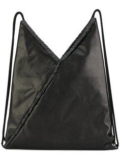 рюкзак геометрической формы на шнурке Mm6 Maison Margiela