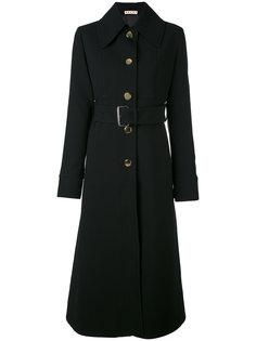 пальто с поясом Marni