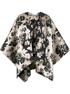 floral print short kimono Ermanno Gallamini