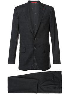 notched lapel two-piece suit Isaia