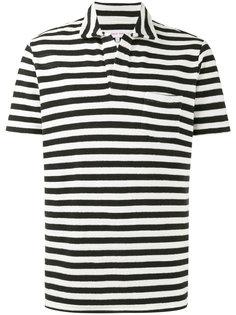 полосатая рубашка-поло Terry Breton Orlebar Brown