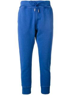 узкие спортивные брюки с логотипом Dsquared2