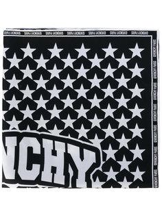 шарф с принтом звезд Givenchy