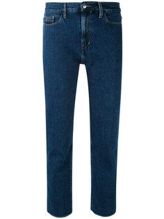 укороченные джинсы с завышенной талией Calvin Klein Jeans