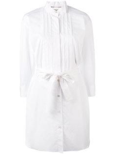 платье-рубашка под пояс Burberry
