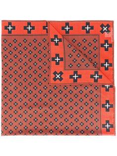 шарф с принтом крестов Givenchy