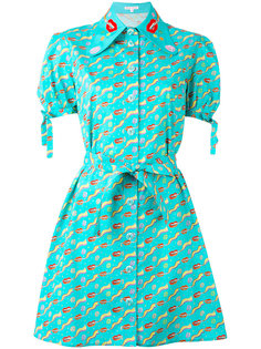 Banana Kush Dutchies print dress Olympia Le-Tan