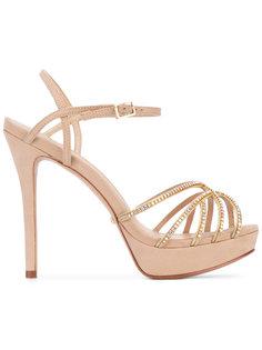 embellished platform sandals Schutz