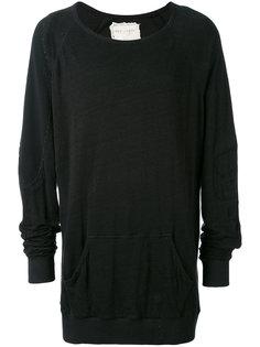 kangaroo pocket sweatshirt Greg Lauren