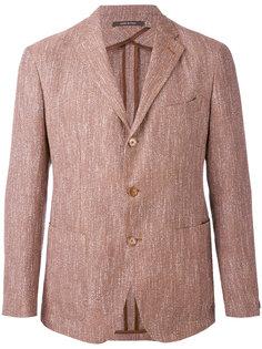 woven single breasted jacket Tagliatore