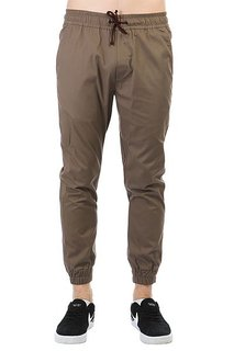 Штаны прямые Anteater Simple Joggers Brown