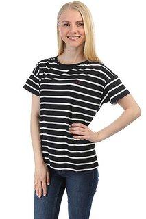 Футболка женская Fred Perry Classic Stripe Black/White