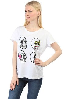 Футболка женская Cheap Monday Have Tee Personal Skull White