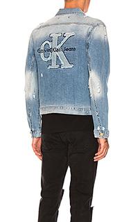 Куртка дальнобойщика с логотипом - Calvin Klein