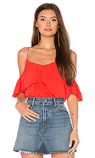 Raquel asymmetric ruffle top - Line & Dot