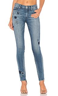 Супер узкие джинсы средней посадки nico - Hudson Jeans