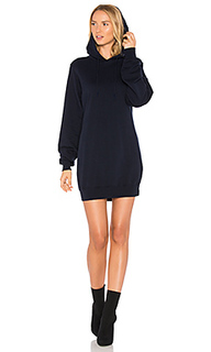 The milan backless hoodie dress - COTTON CITIZEN