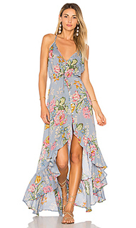 Havana nights backless splash dress - AUGUSTE