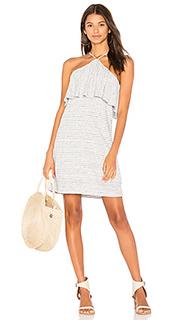 Льняной платье в мини полоску - Splendid
