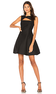 Asymmetrical v neck dress - Halston Heritage