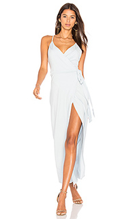 Макси платье wrap over me - WYLDR