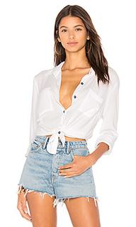 Рубашка на пуговицах с завязкой - Splendid