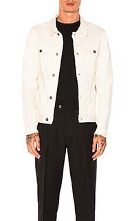 Джинсовая куртка greaser - Zanerobe
