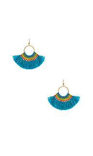 Серьги с кисточками - Natalie B Jewelry