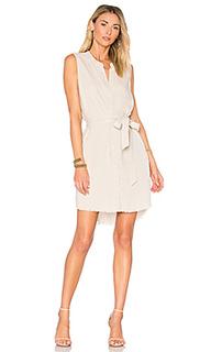 Платье-рубашка с поясом - Bella Dahl