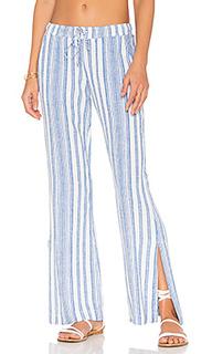 Широкие брюки с разрезами по бокам - Bella Dahl