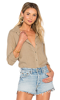 Fray hem button down - Bella Dahl