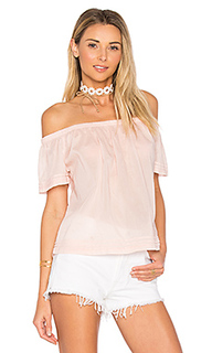 Pintuck off shoulder top - Bella Dahl