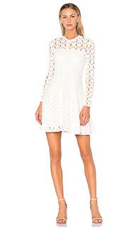 Приталенное расклёшенное платье charlotte - Lover
