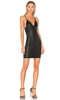 Fitted leather dress - T by Alexander Wang