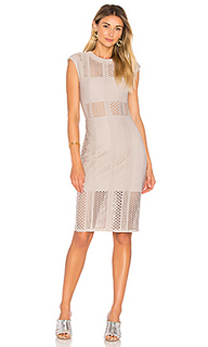 Crafted mesh midi dress - twenty