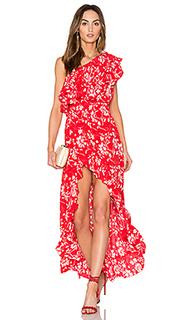 Платье с одним плечом wildflower - Steele