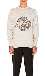 Вязаный пуловер lion fish - Barney Cools