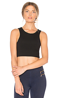Fit muscle crop tank - Blue Life