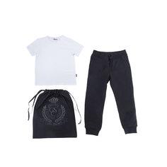 Комплект: футболка, брюки и мешок для мальчика Gulliver