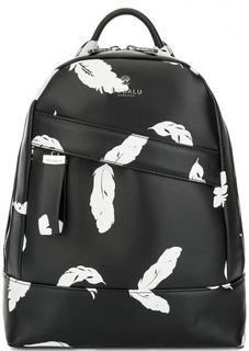 Черный рюкзак с одним отделом Modalu London