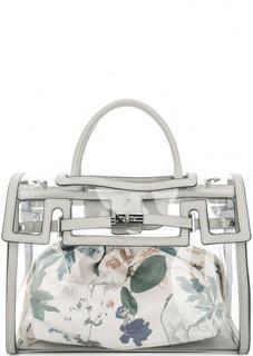 Прозрачная сумка со съемным отделением Fiorelli