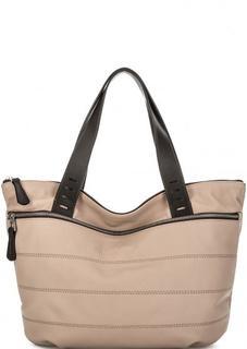 Вместительная сумка из натуральной кожи Gianni Conti